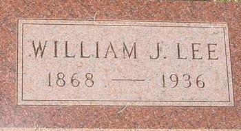 LEE, WILLIAM J. - Woodbury County, Iowa | WILLIAM J. LEE