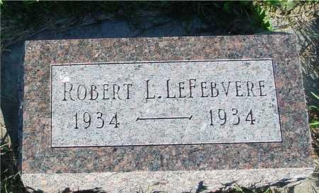 LEFEBVERE, ROBERT L. - Woodbury County, Iowa | ROBERT L. LEFEBVERE