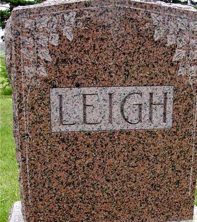LEIGH, ALBERT & CLARA - Woodbury County, Iowa   ALBERT & CLARA LEIGH