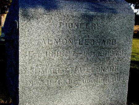 LEONARD, ALMON & EMALETT - Woodbury County, Iowa | ALMON & EMALETT LEONARD