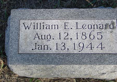 LEONARD, WILLIAM E. - Woodbury County, Iowa | WILLIAM E. LEONARD