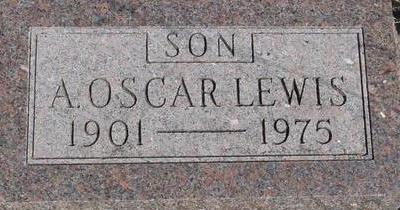 LEWIS, A. OSCAR - Woodbury County, Iowa | A. OSCAR LEWIS