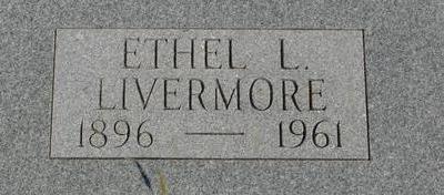 LIVERMORE, ETHEL L. - Woodbury County, Iowa   ETHEL L. LIVERMORE