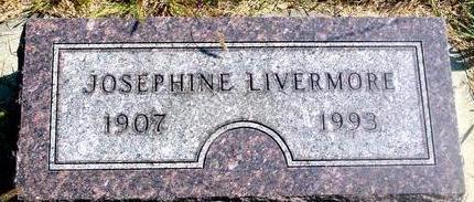 LIVERMORE, JOSEPHINE - Woodbury County, Iowa | JOSEPHINE LIVERMORE