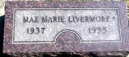 LIVERMORE, MAE MARIE - Woodbury County, Iowa | MAE MARIE LIVERMORE