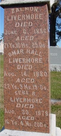LIVERMORE, ZALMON - Woodbury County, Iowa | ZALMON LIVERMORE