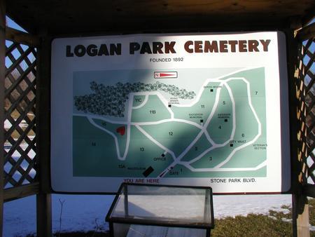 LOGAN PARK, CEMETERY - Woodbury County, Iowa | CEMETERY LOGAN PARK