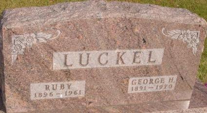 LUCKEL, GEORGE H. - Woodbury County, Iowa | GEORGE H. LUCKEL