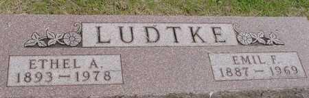LUDTKE, EMIL & ETHEL A. - Woodbury County, Iowa   EMIL & ETHEL A. LUDTKE
