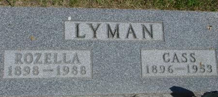 LYMAN, CASS - Woodbury County, Iowa   CASS LYMAN