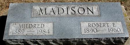 MADISON, ROBERT & MILDRED - Woodbury County, Iowa | ROBERT & MILDRED MADISON