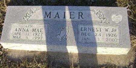 MAIER, ANNA MAE - Woodbury County, Iowa | ANNA MAE MAIER