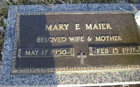 MAIER, MARY E - Woodbury County, Iowa | MARY E MAIER