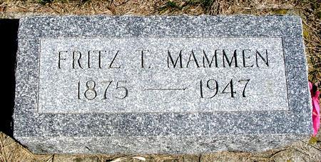 MAMMEN, FRITZ T. - Woodbury County, Iowa   FRITZ T. MAMMEN