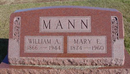 MANN, WILLIAM A. & MARY - Woodbury County, Iowa | WILLIAM A. & MARY MANN