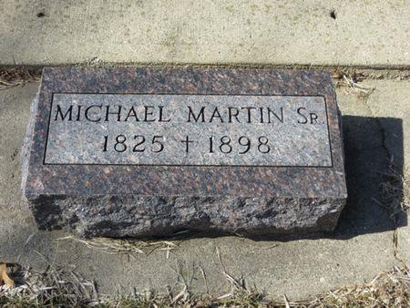 MARTIN, MICHAEL SR. - Woodbury County, Iowa   MICHAEL SR. MARTIN