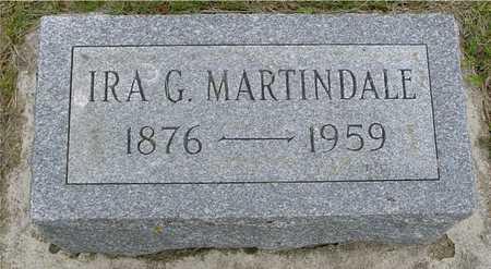 MARTINDALE, IRA G. - Woodbury County, Iowa | IRA G. MARTINDALE