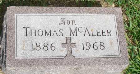 MCALEER, THOMAS - Woodbury County, Iowa | THOMAS MCALEER