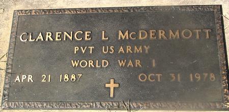 MCDERMOTT, CLARENCE J. - Woodbury County, Iowa | CLARENCE J. MCDERMOTT