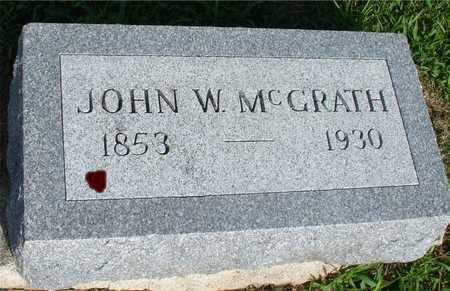 MCGRATH, JOHN W. - Woodbury County, Iowa   JOHN W. MCGRATH
