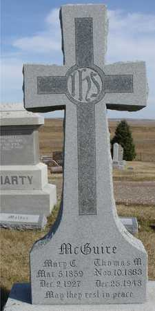MCGUIRE, THOMAS & MARY C. - Woodbury County, Iowa | THOMAS & MARY C. MCGUIRE
