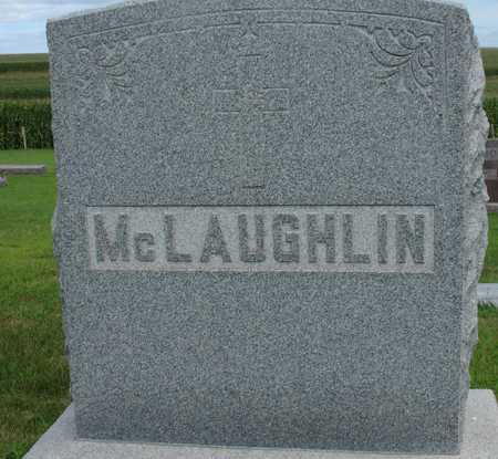 MCLAUGHLIN, FAMILY MARKER - Woodbury County, Iowa | FAMILY MARKER MCLAUGHLIN