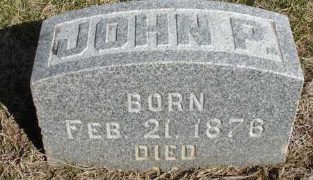 MCNIFF, JOHN P. - Woodbury County, Iowa | JOHN P. MCNIFF