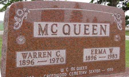 MCQUEEN, WARREN C. & ERMA - Woodbury County, Iowa | WARREN C. & ERMA MCQUEEN
