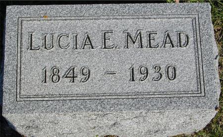 MEAD, LUCIA E. - Woodbury County, Iowa | LUCIA E. MEAD