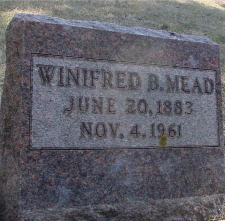 MEAD, WINIFRED B. - Woodbury County, Iowa | WINIFRED B. MEAD