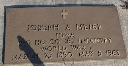 MEIER, JOSEPH A. - Woodbury County, Iowa   JOSEPH A. MEIER