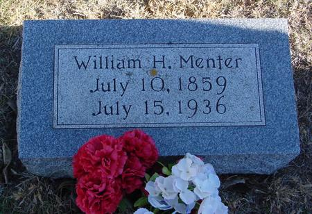 MENTER, WILLIAM H. - Woodbury County, Iowa | WILLIAM H. MENTER
