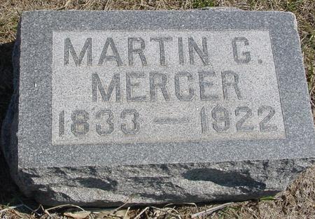 MERCER, MARTIN G. - Woodbury County, Iowa | MARTIN G. MERCER