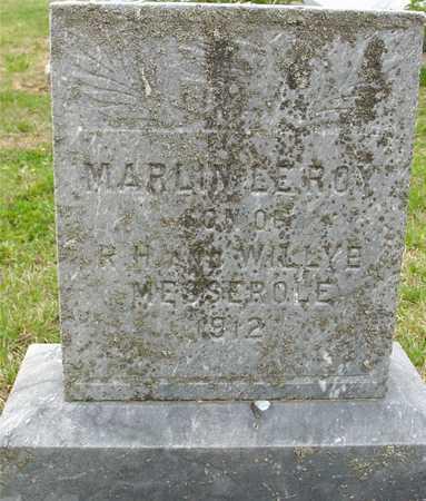 MESSEROLE, MARLIN LEROY - Woodbury County, Iowa   MARLIN LEROY MESSEROLE