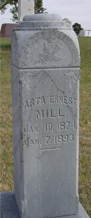 MILL, ARTA ERNEST - Woodbury County, Iowa   ARTA ERNEST MILL