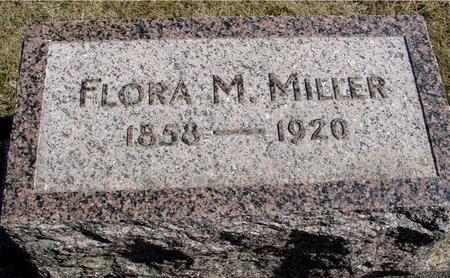 MILLER, FLORA M. - Woodbury County, Iowa   FLORA M. MILLER