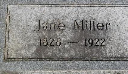 MILLER, JANE - Woodbury County, Iowa | JANE MILLER