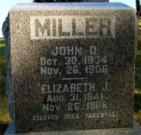 MILLER, JOHN D. & ELIZABETH - Woodbury County, Iowa | JOHN D. & ELIZABETH MILLER