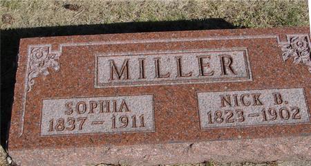 MILLER, NICK & SOPHIA - Woodbury County, Iowa   NICK & SOPHIA MILLER