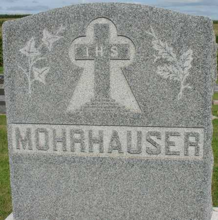 MOHRHAUSER, FAMILY MARKER - Woodbury County, Iowa   FAMILY MARKER MOHRHAUSER