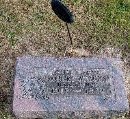 MOON, ROBERT W. - Woodbury County, Iowa   ROBERT W. MOON