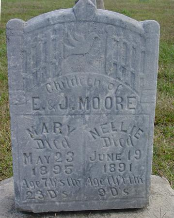 MOORE, MARY & NELLIE - Woodbury County, Iowa | MARY & NELLIE MOORE