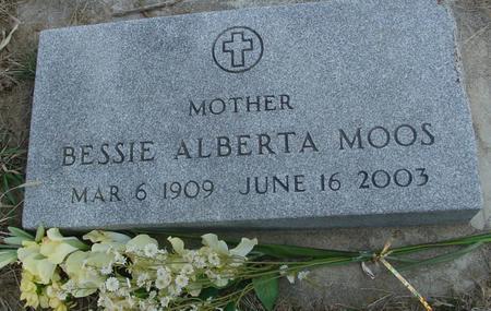 MOOS, BESSIE ALBERTA - Woodbury County, Iowa   BESSIE ALBERTA MOOS