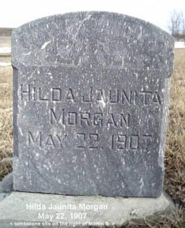 MORGAN, HILDA JAUNITA - Woodbury County, Iowa | HILDA JAUNITA MORGAN