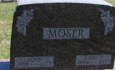 MOSER, CARL & ROSE - Woodbury County, Iowa | CARL & ROSE MOSER