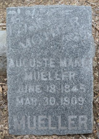 MUELLER, AUGUSTE MARIE - Woodbury County, Iowa | AUGUSTE MARIE MUELLER