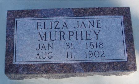 MURPHEY, ELIZA JANE - Woodbury County, Iowa | ELIZA JANE MURPHEY