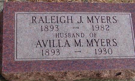 MYERS, RALEIGH & AVILLA - Woodbury County, Iowa   RALEIGH & AVILLA MYERS