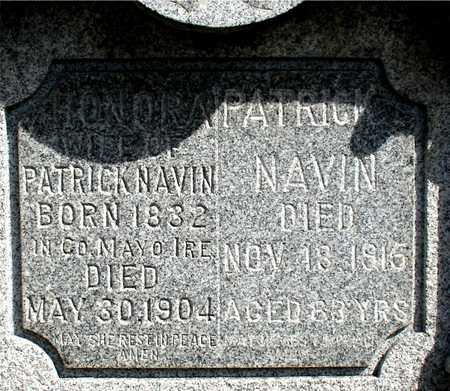 NAVIN, PATRCK & HONORA - Woodbury County, Iowa | PATRCK & HONORA NAVIN