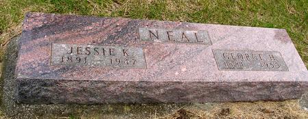 NEAL, GEORGE & JESSIE - Woodbury County, Iowa | GEORGE & JESSIE NEAL